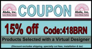 15% Coupon Virtual Designer