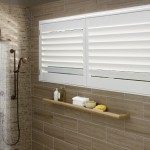 Hunter Douglas Shutter palmbeach_truview_shower