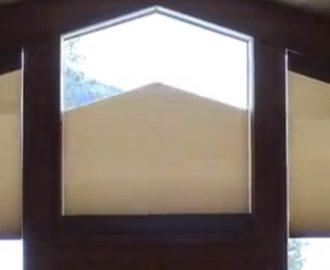 Pentagon Shaped Window