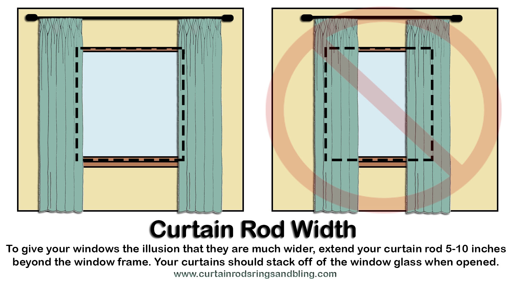 how to hang up curtain rods mount curtain rods width abda abda window fashions 8674