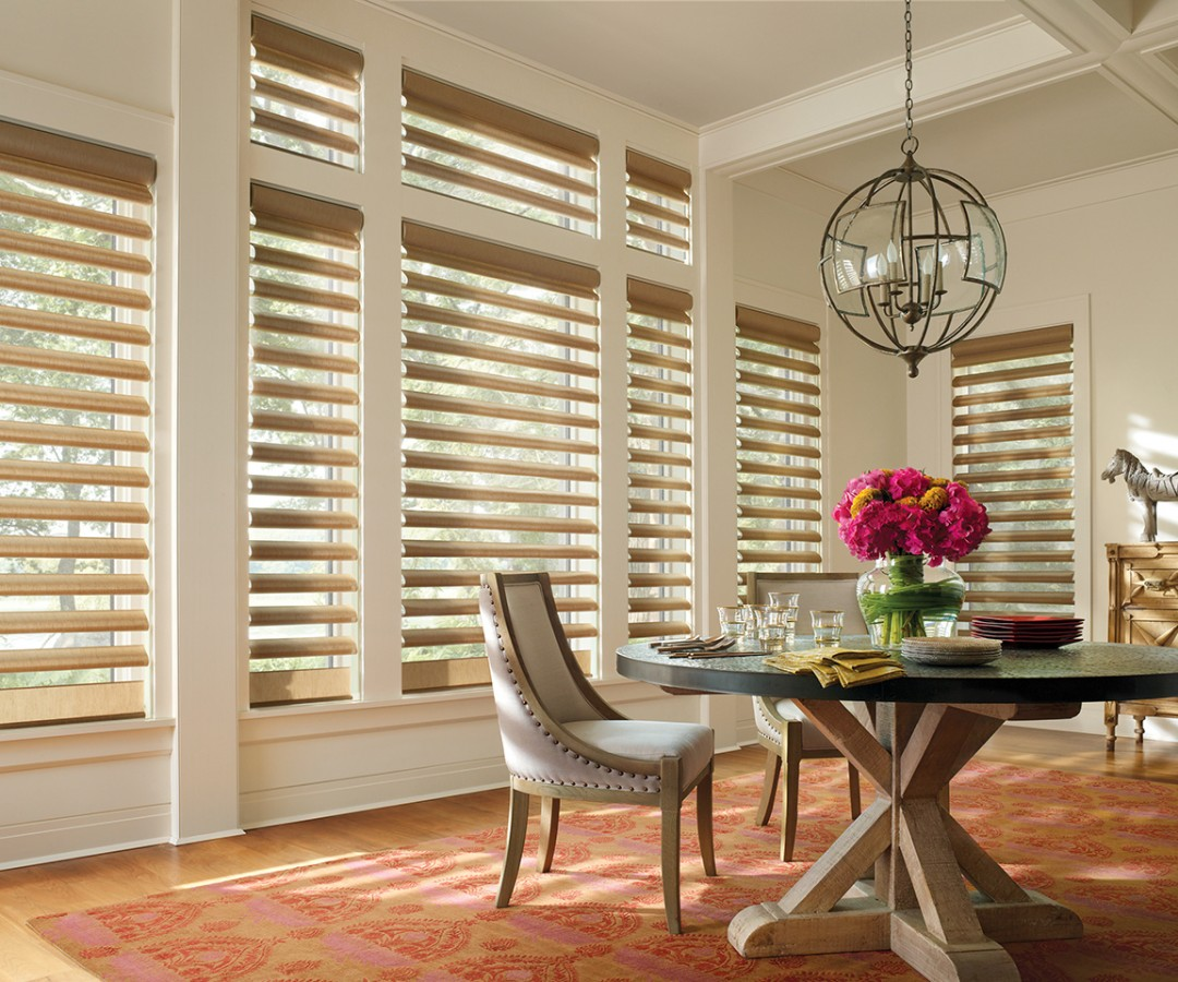 Hunter Douglas Alustra Pirouette Window Shades