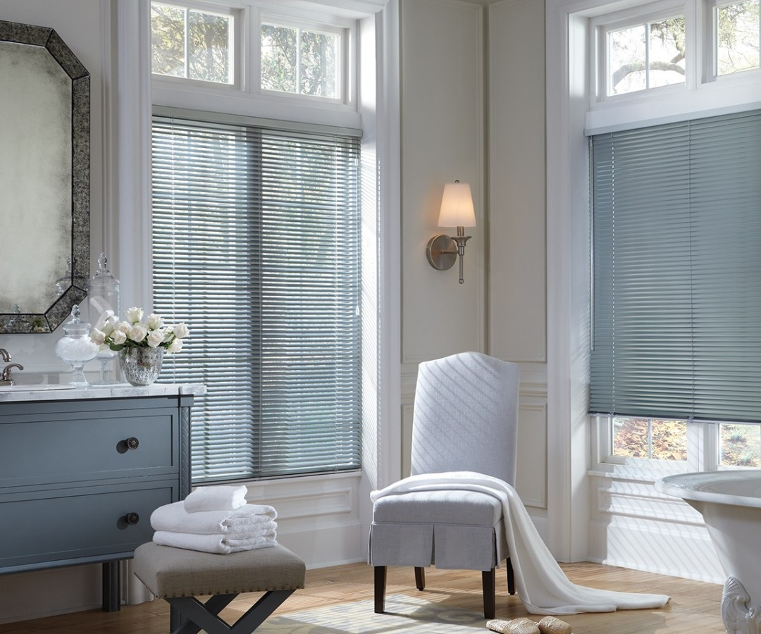 Bathroom Precious Metal Blinds