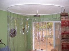 Circle Rod Shower Curtain Ceiling Rod Bendable Abda