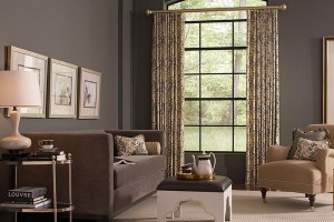 gray curtains and draperies Abda Indianapolis Window Treatments