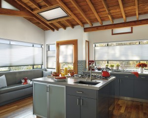hunter Douglas applause honeycomb shade ultraglide_kitchen_1