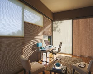 hunter douglas applause honeycomb shades vertiglide_office