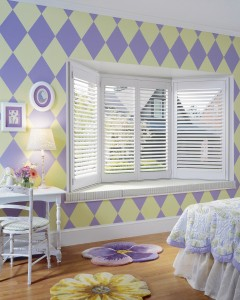 hunter douglas shutters heritance_truview_girls bedroom