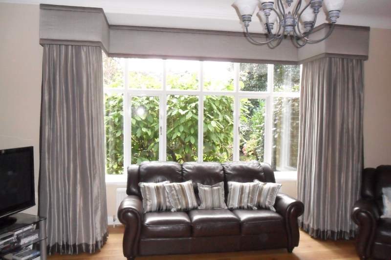 Large Square Bay Curtains