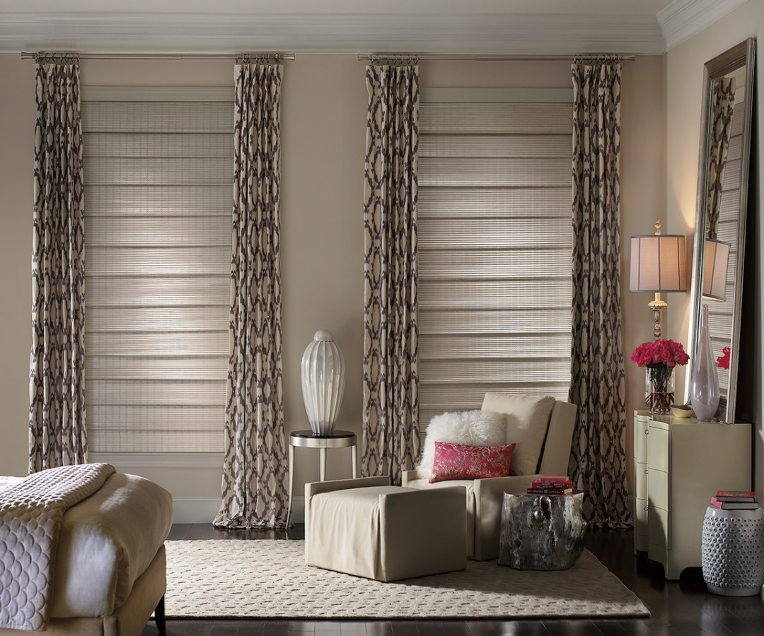 Woven Wood, Roman Shades, Drapery Panels